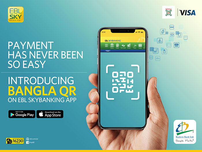 EBL launches Bangla QR Payment